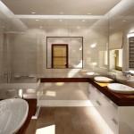Custom made private bathroom furniture